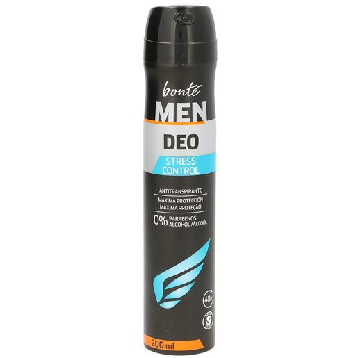BONTE Men desodorante stress control spray 200 ml