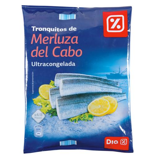 DIA tronquitos de merluza bolsa 600 gr
