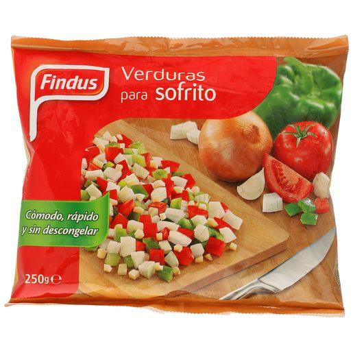 FINDUS verduras para sofrito bolsa 250 gr