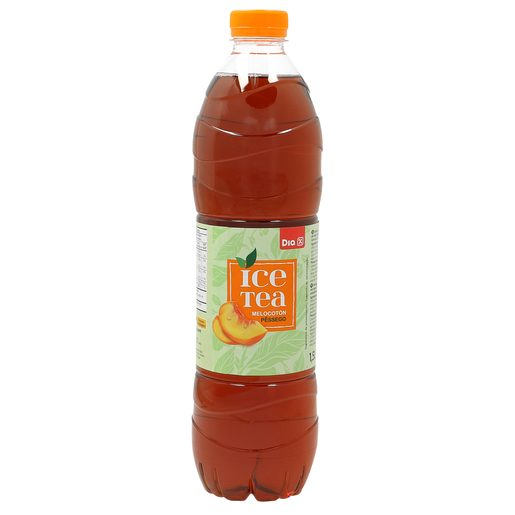 DIA refresco de té melocotón botella 1.5 lt
