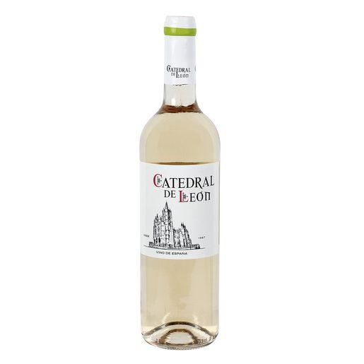 CATEDRAL DE LEÓN vino blanco semidulce botella 75 cl