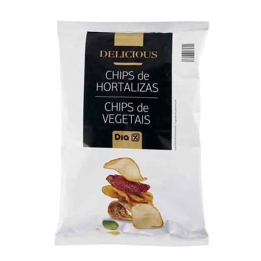 DIA DELICIOUS chips de hortalizas bolsa 100 gr