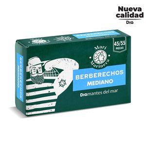 DIA MARI MARINERA berberechos al natural 45/55 piezas lata 63 gr