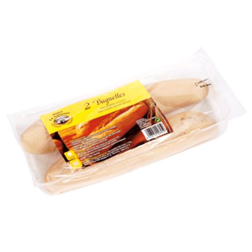 LA GAÑANIA baguettes precocidas 2 unidades blister 250 grs