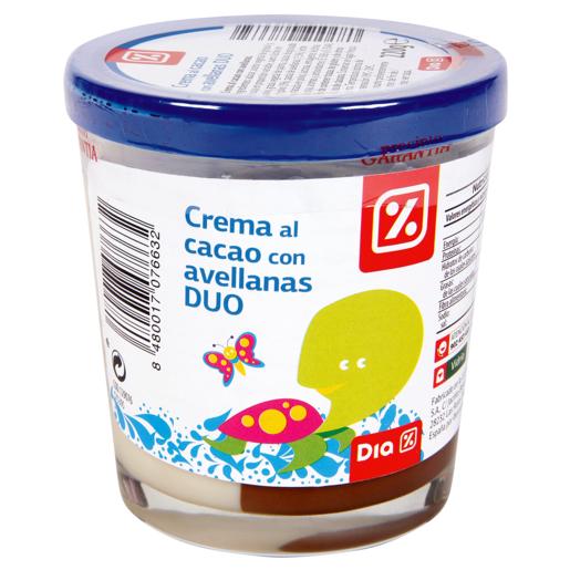 DIA crema de cacao 2 sabores vaso 220 grs