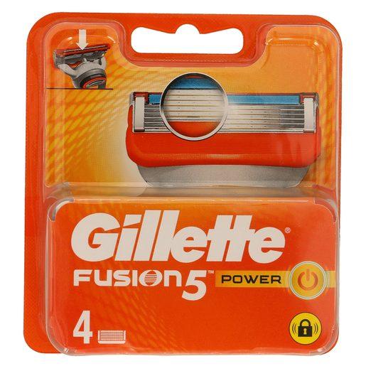 GILLETTE Fusion power recambio blíster 4 uds