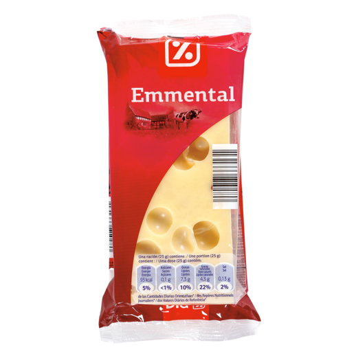 DIA queso taco emmental envase 250 g