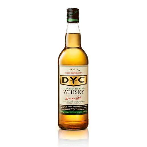 DYC whisky nacional botella 70 cl