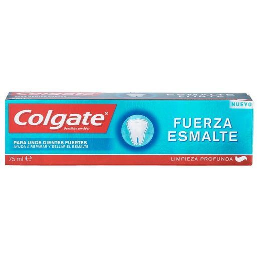 COLGATE pasta dentífrica fuerza esmalte tubo 75 ml