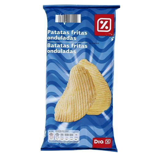 DIA patatas fritas onduladas bolsa 150GR