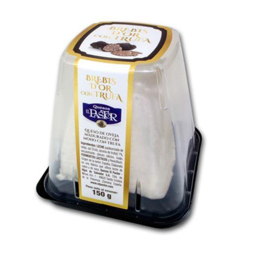 EL PASTOR queso de oveja con trufa envase 150 gr