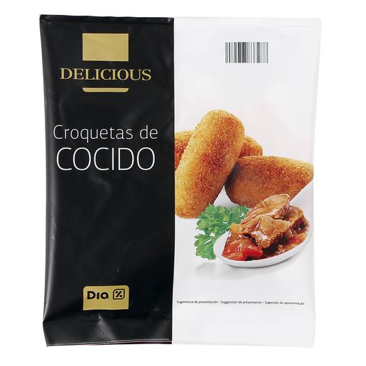 DIA DELICIOUS croquetas de cocido artesanas bolsa 500 gr