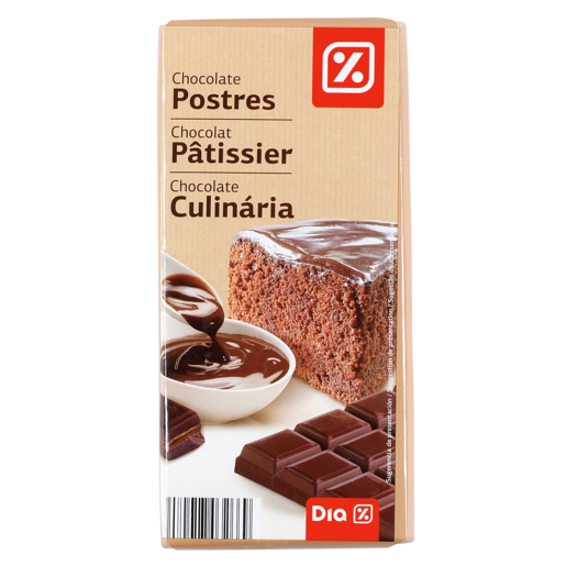 DIA chocolate gran fondant tableta 200 gr