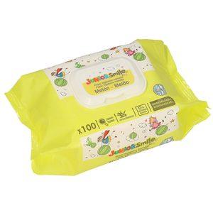 JUNIORSMILE toallitas wc aroma melón envase 100 uds