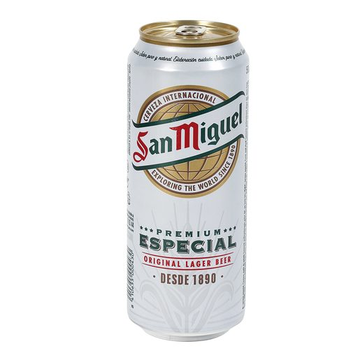 SAN MIGUEL cerveza rubia nacional lata 50 cl