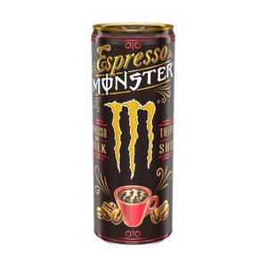 MONSTER bebida de café con leche espresso lata 25 cl