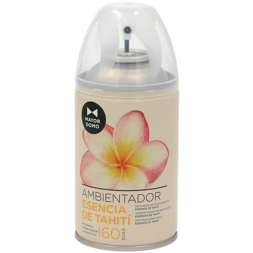 MAYORDOMO ambientador automático aroma esencia de tahití spray 335 ml