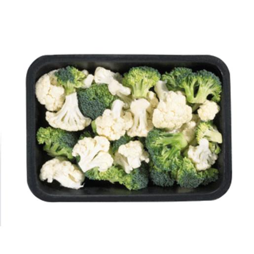 Coliflor + brócoli bandeja 400 gr  aprox.