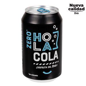 DIA HOLA COLA refresco de cola zero lata 33 cl