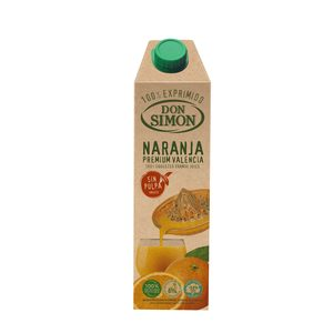 DON SIMON zumo de naranja exprimida sin pulpa envase 1 lt