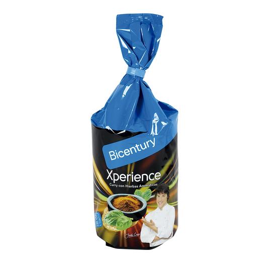 BICENTURY Xperience tortitas con curry y hierbas aromáticas bolsa 123 gr