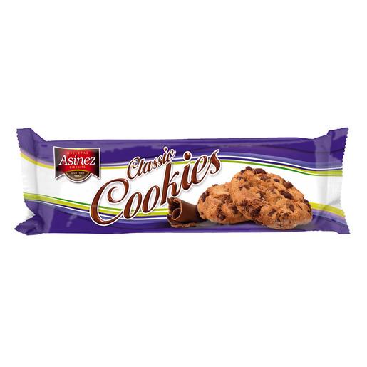ASINEZ galletas classic cookies paquete 105 gr