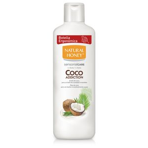 NATURAL HONEY gel de ducha coco addition bote 650 ml