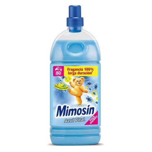 MIMOSIN suavizante concentrado azul botella 80 lv
