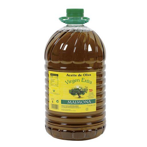 MAIMONA aceite de oliva virgen extra garrafa 5 lt