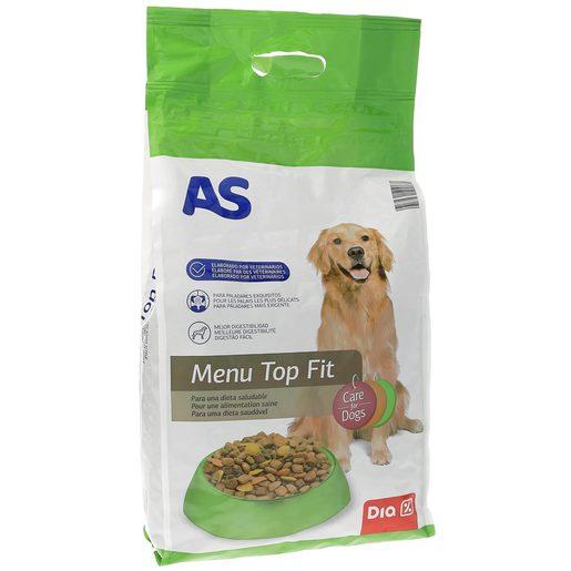 AS alimento para perros menú top fit bolsa 4 Kg