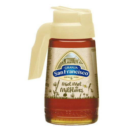GRANJA SAN FRANCISCO miel de milflores frasco 500 gr