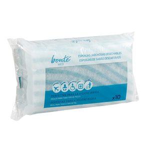 BONTE esponjas jabonosas desechables bolsa 10 uds