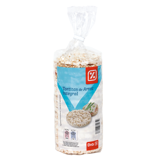 DIA tortas de arroz integral paquete 130 gr