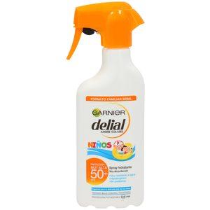 DELIAL leche solar sensitive niños fp 50 pistola 300 ml