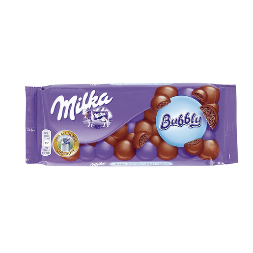 MILKA chocolate bubbly tableta 100 gr
