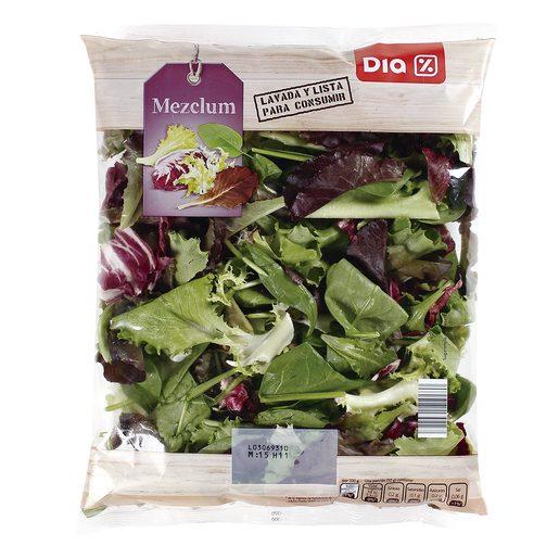 DIA ensalada mezclum bolsa 150 gr