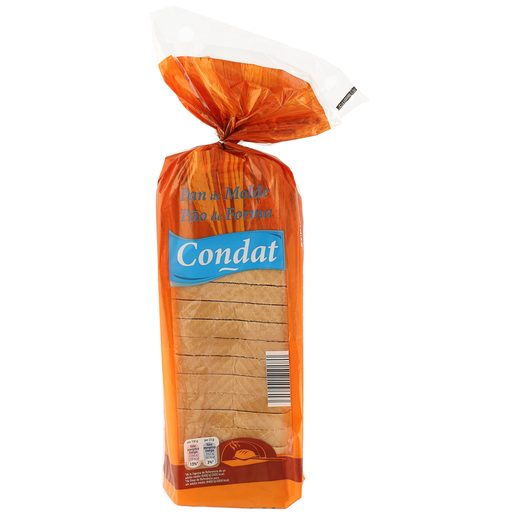 CONDAT pan de molde blanco bolsa 475gr