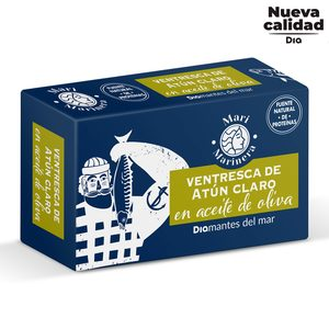 DIA MARI MARINERA ventresca de atún claro en aceite de oliva lata 78 gr
