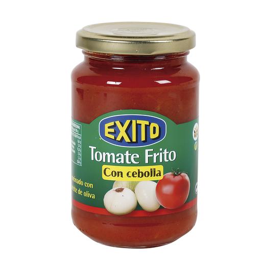 EXITO tomate frito con cebolla frasco 350 gr
