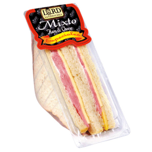 LORD SÁNDWICHES sándwich especial mixto envase 150g