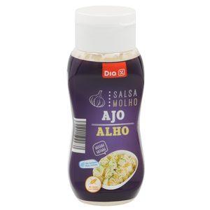 DIA salsa fina con ajo bote 300 ml