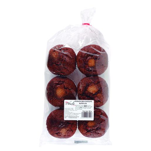 LA ABUELA magdalenas de chocolate bolsa 360 gr