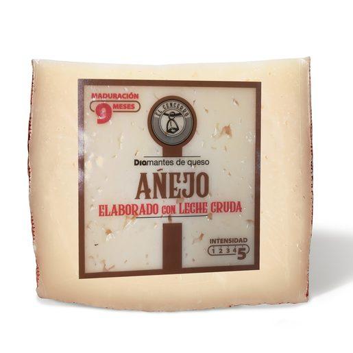 DIA EL CENCERRO queso mezcla añejo con leche cruda 9 meses cuña 300 gr