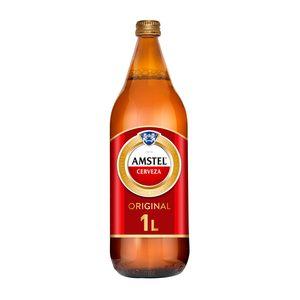 AMSTEL cerveza botella 1 lt