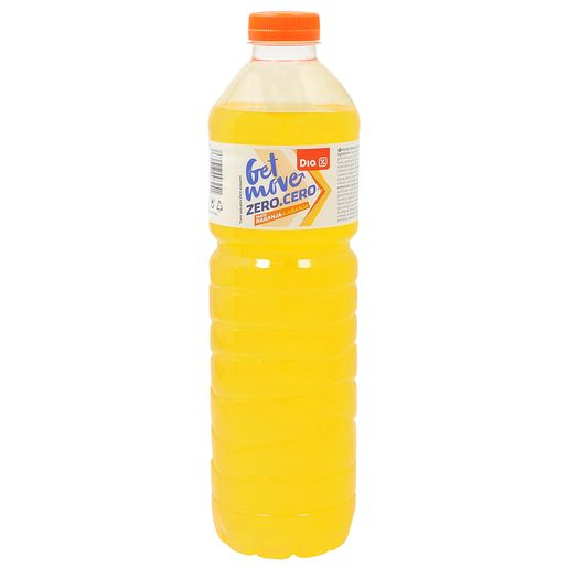 DIA bebida refrescante aromatizada naranja sin azúcar botella 1.5 lt