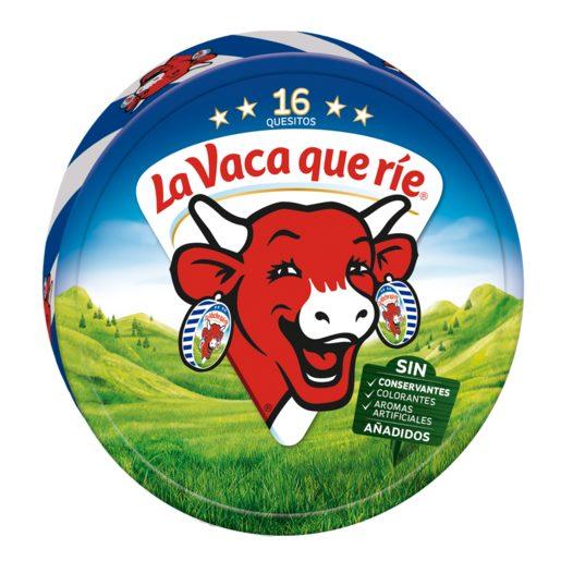 LA VACA QUE RIE queso fundido 16 porciones caja 250 gr