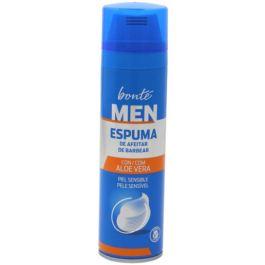BONTE espuma de afeitar piel sensible spray 250 ml