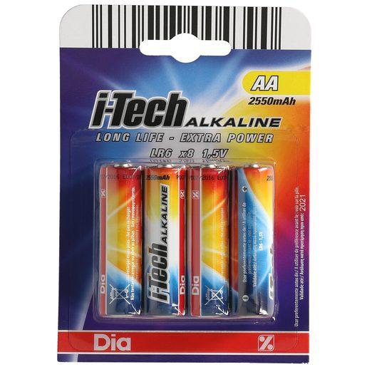 DIA pila alcalina AA (LR6) blister 8 unidades