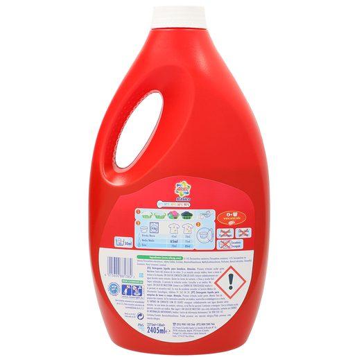 ARIEL detergente máquina líquido básico botella 35 + 2 lv