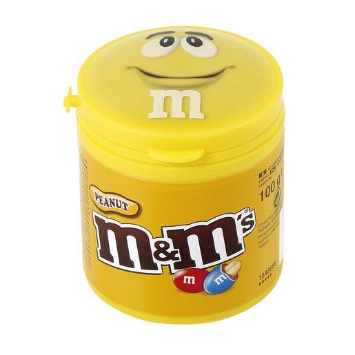 M&M's cacahuete bote 100 gr